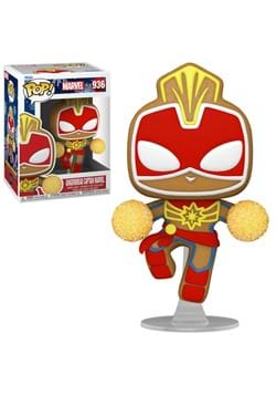POP Marvel: Holiday- Gingerbread Captain Marvel