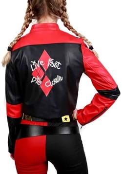 DC Comics Suicide Squad Harley Quinn Moto Jacket