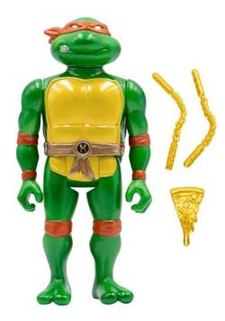 TMNT ReAction Michelangelo with Carry Case