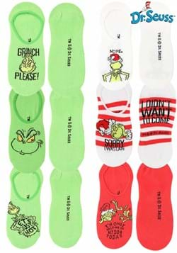 Dr. Seuss Grinch No-Show Socks (6-pack)