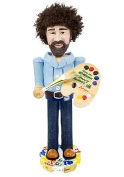 Bob Ross with Palette 10-Inch Nutcracker