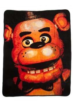 Five Nights at Freddys Fleece Throw