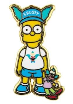 Bart Simpson Fan Pin
