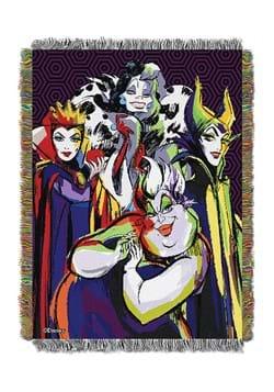 Disney Villains Villainous Group Tapestry Throw
