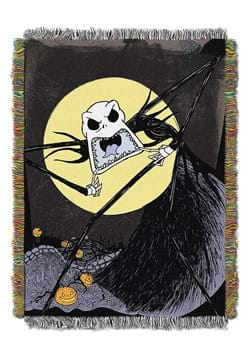 Nightmare Before Christmas Wicked Paint Tapestry Throw