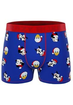 Mens Mickey and Friends Christmas Boxer Briefs