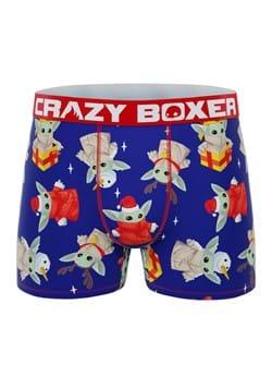 Men's MANDALORIAN Baby Yoda Holiday Boxer Briefs