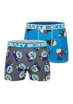 Men's SOUTH PARK 2 Pack Cartman Boxer Briefs