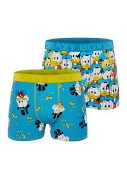 Men's Disney Donald Duck + Scrooge 2 Pack Boxer Br