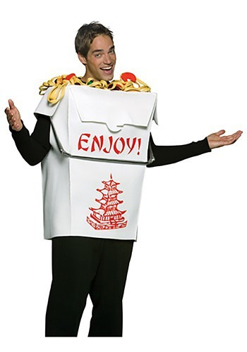 Chinese Take Out Costume For adults