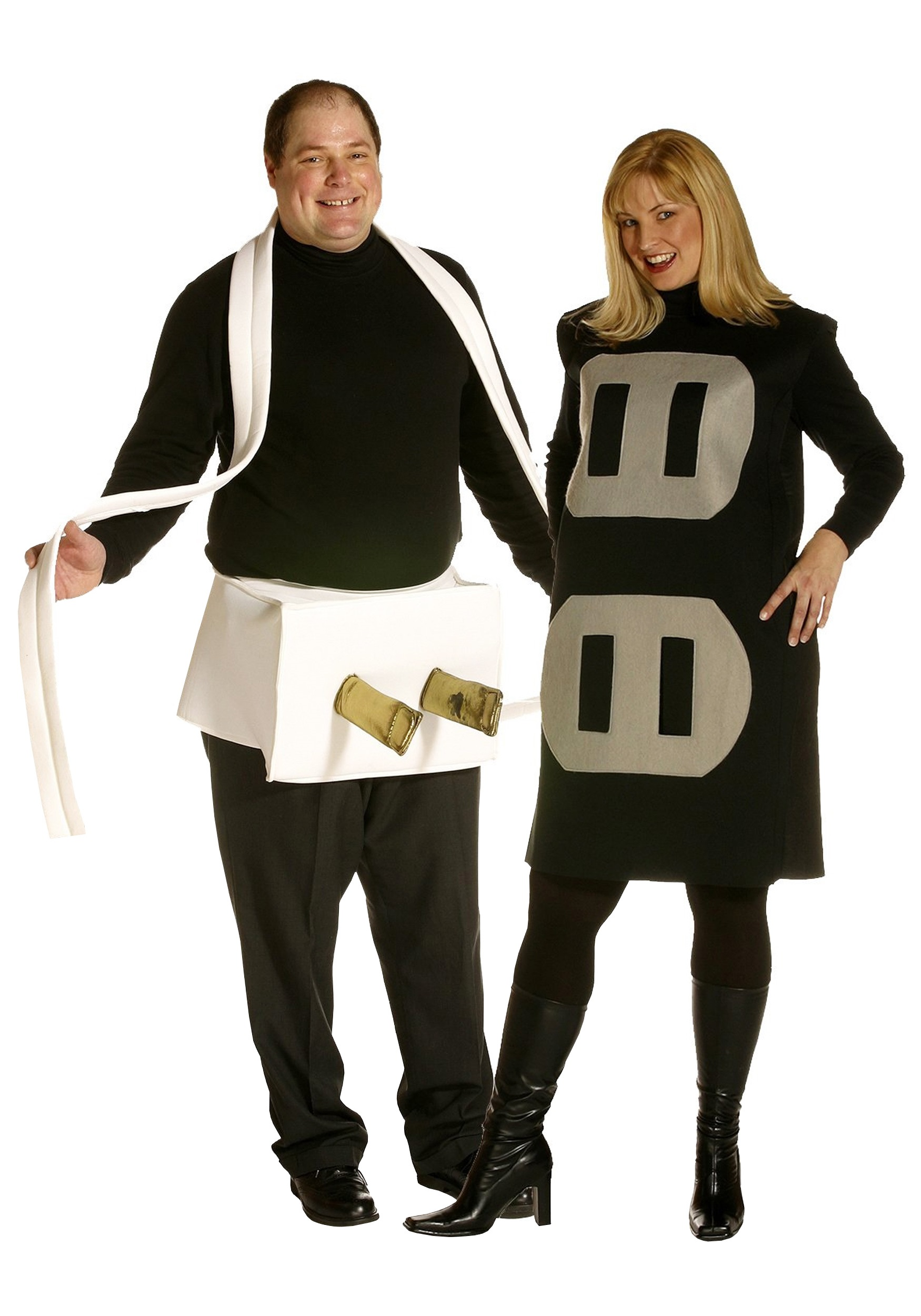 a41dc9b4eb67 Plus Size Plug and Socket Couple Costume