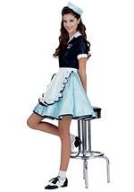 Adult Car Hop Girl Costume