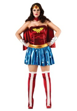 Wonder Woman Plus Size Superhero Costume