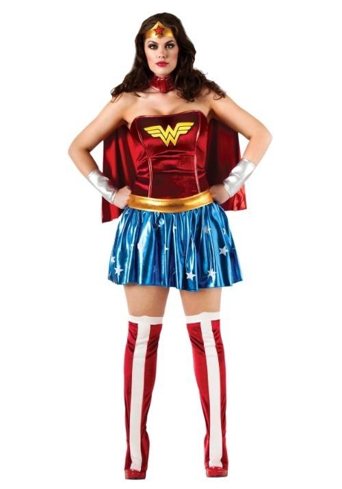Wonder Woman Plus Size Superhero Costume