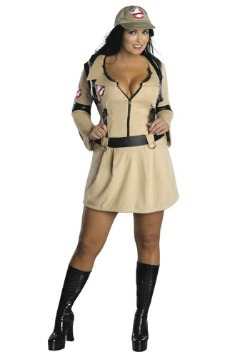 Womens Sexy Plus Size Ghostbusters Costume