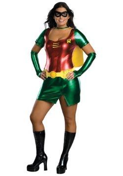 Women's Plus Size Sidekick Robin Costume