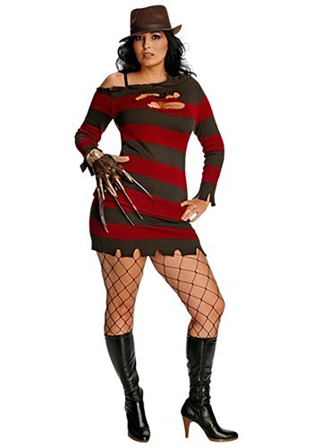 Women's Plus Size Miss Krueger Costume