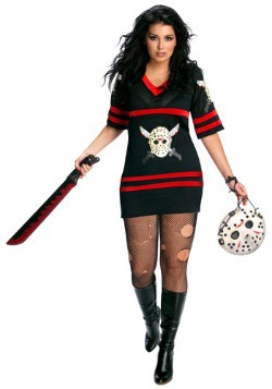 Women's Sexy Plus Size Jason Costume