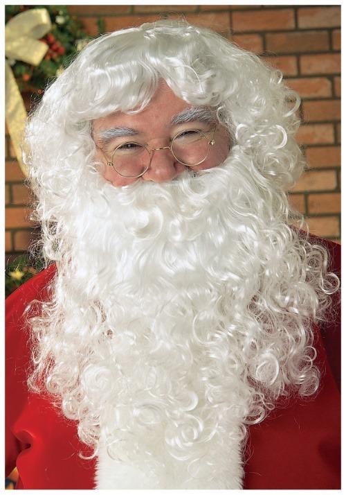 White Santa Wig and Beard
