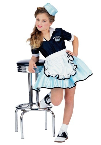 Kids Car Hop Sweetie Costume