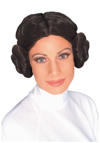 Ladies Princess Leia Wig