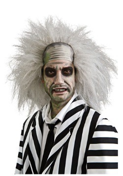 Men's Crazy Beetlejuice Wig