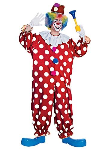 Polka Dot Clown Costume