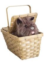Wizard of Oz Deluxe Toto in Basket