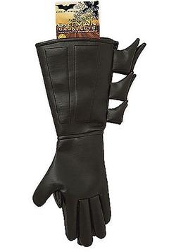 Childs Superhero Batman Gloves