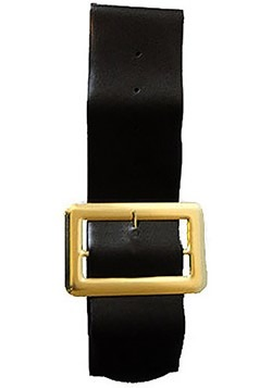 Vinyl Belt w/ Gold Buckle