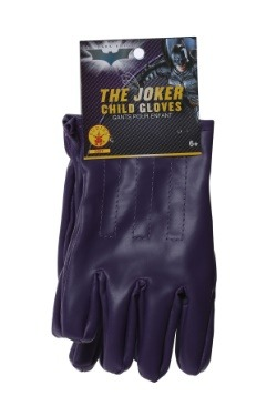 Child Purple Joker Gloves