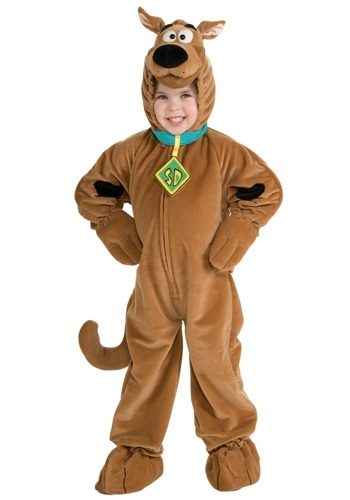 Deluxe Scooby Doo Child Costume