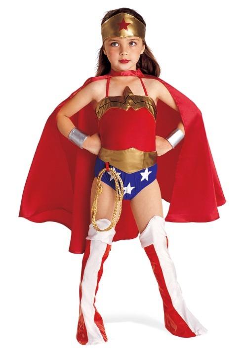 Wonder Woman Girls Costume