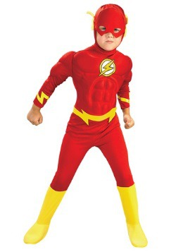 Child Deluxe Muscle Chest Flash Costume
