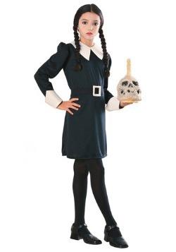 Girls Wednesday Addams Costume