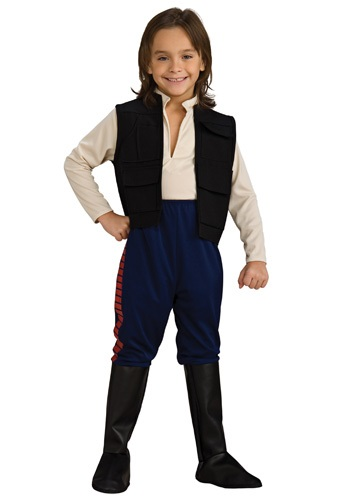 Kids Deluxe Star Wars Han Solo Costume
