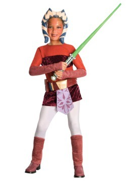 Kids Deluxe Edition Star Wars Ahsoka Costume