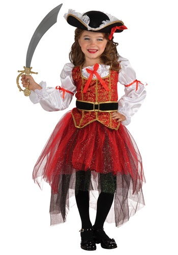 Princess Sea Pirate Girls Costume