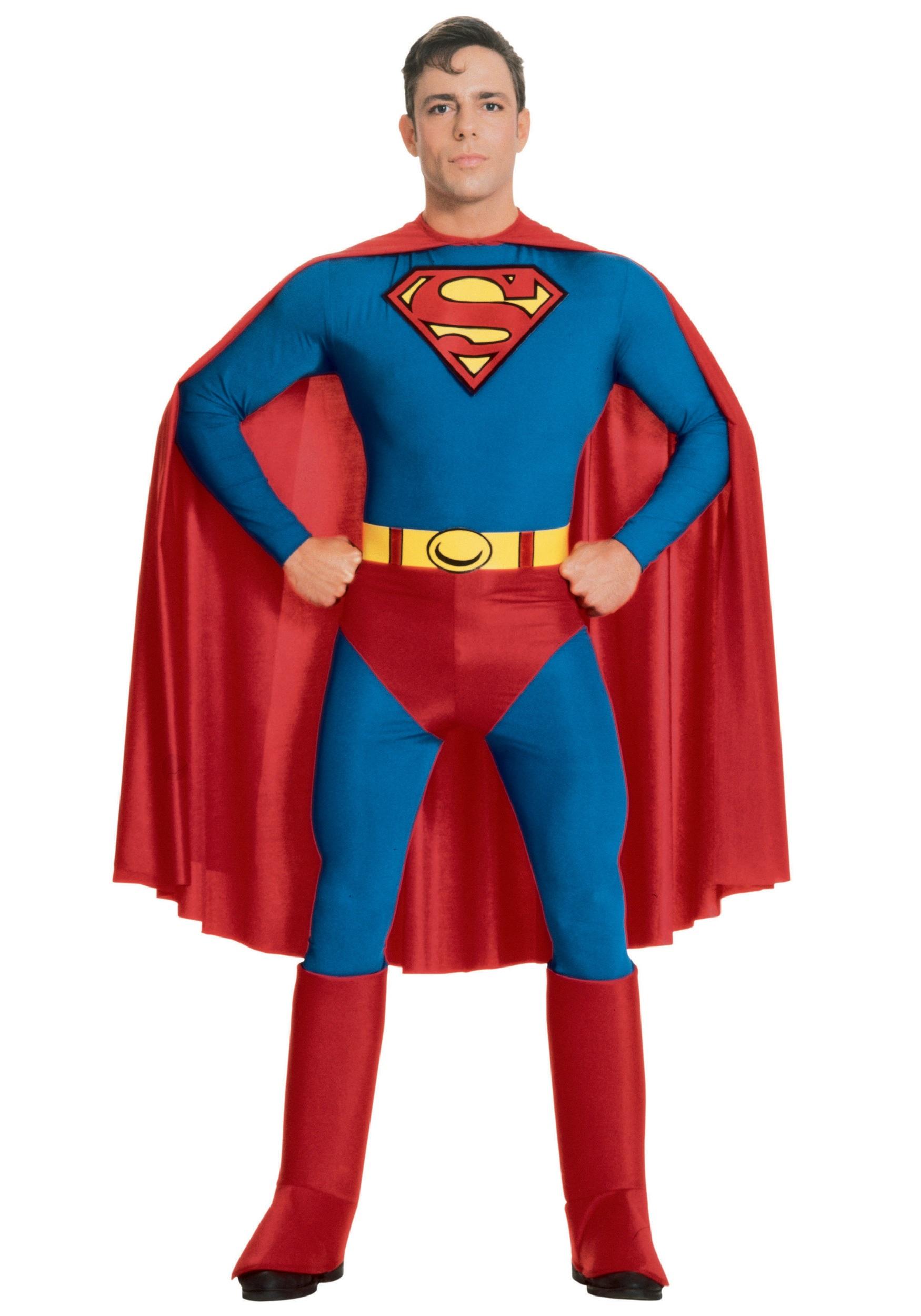Adult Superman Traditional Costume