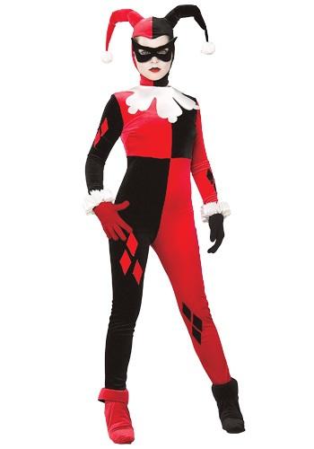 Womens Harley Quinn Costume