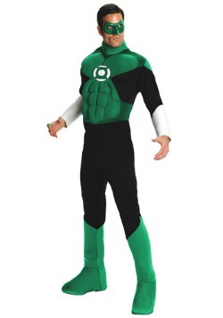 Mens Green Lantern Deluxe Costume