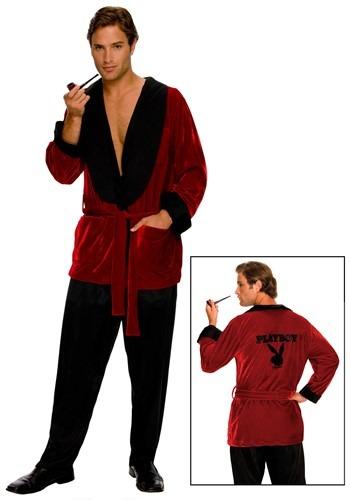 Playboy Hugh Hefner Men's Smoking Jacket