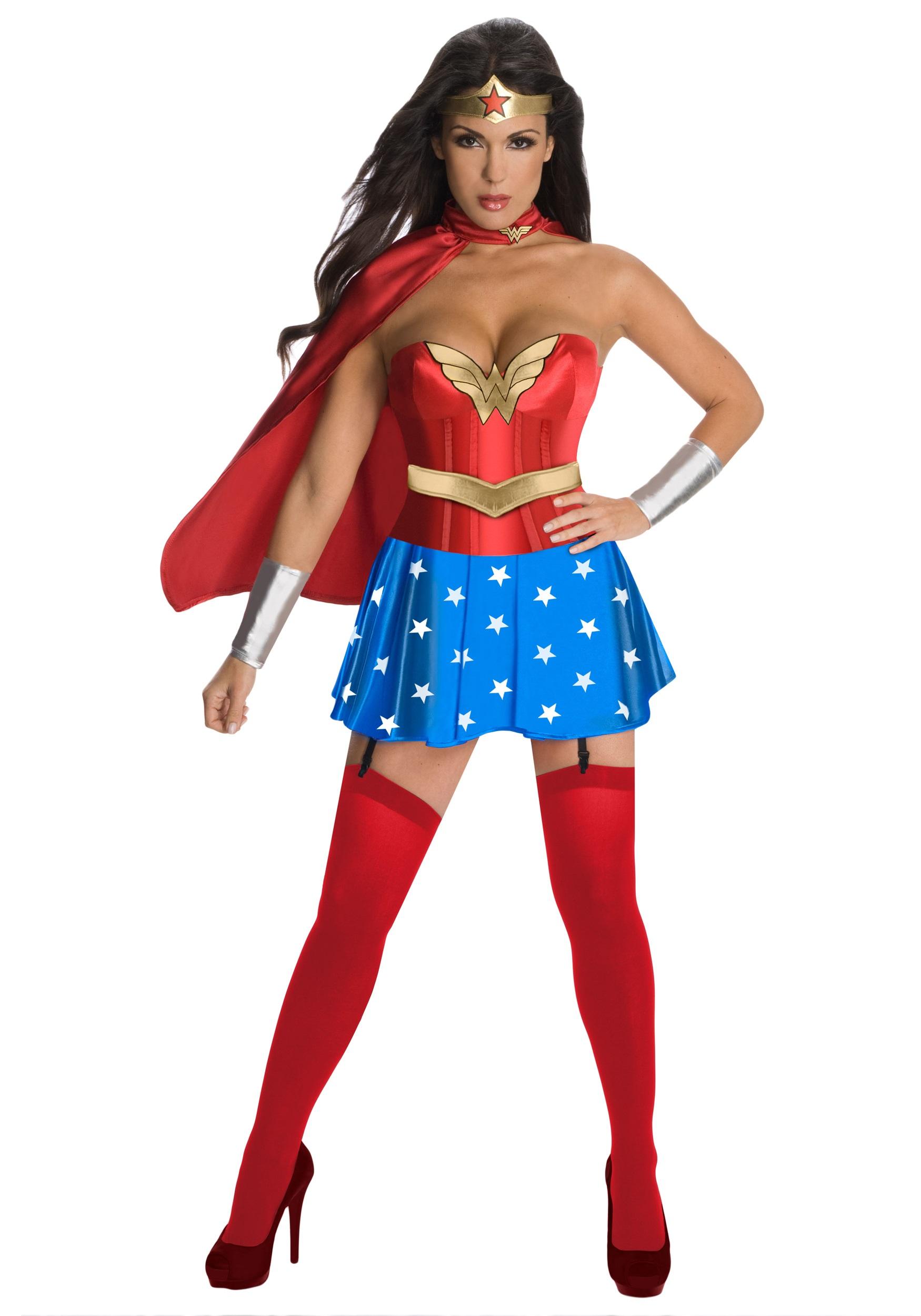 wonder woman sexy corset costume rh fun co uk Wonder Woman Costume Emblem Wonder Woman Costume for Women