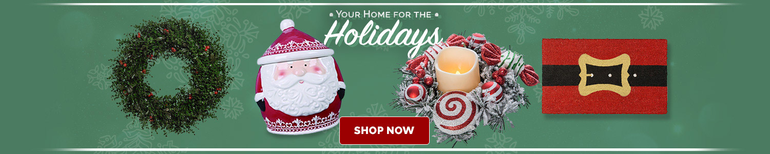 Your Home for the Holidays. Holiday Decor.